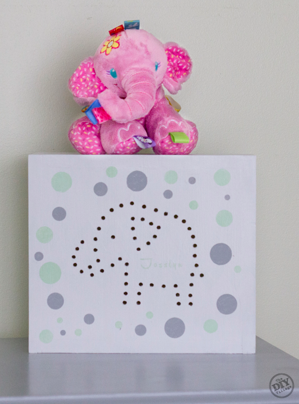 Custom Elephant Night Light