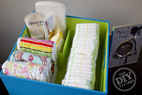 Newborn Portable Diaper Organizer