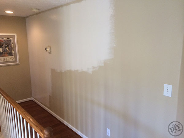 First Coat Hallway Wall