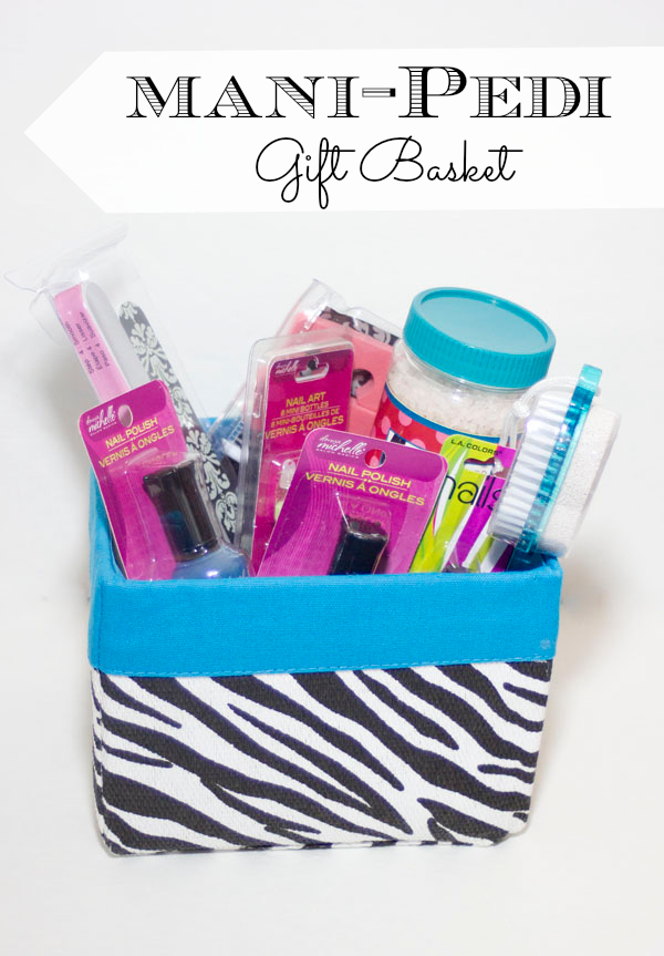 Diy Manicure/pedicure Spa Basket