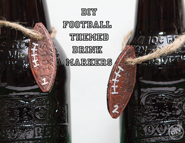 Football Bottle Markers