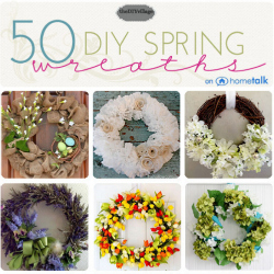 50 Spring Wreath Ideas