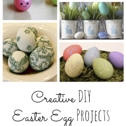 Creative DIY Easter egg projects
