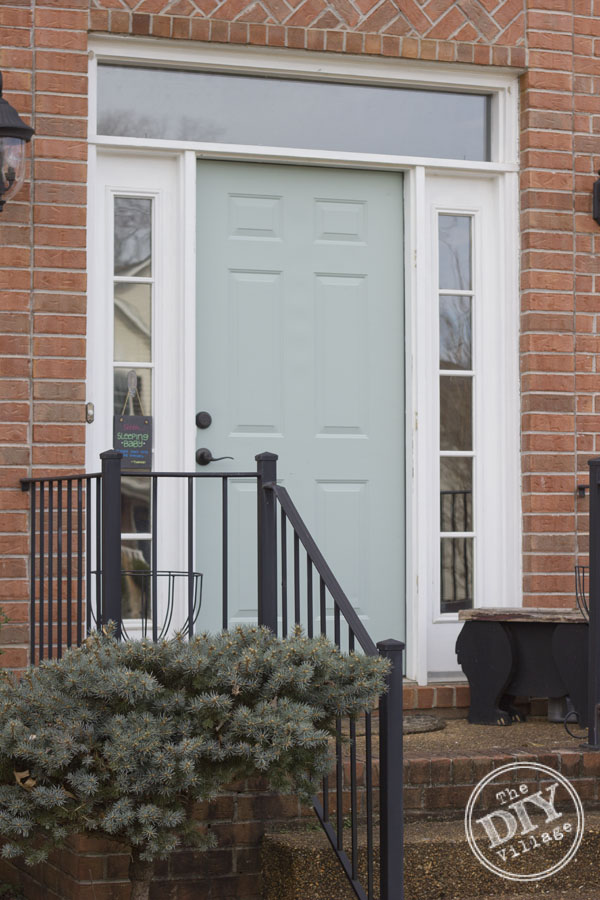 How To Paint A Front Door Without Removing It How To Paint A Front Door Without Removing It