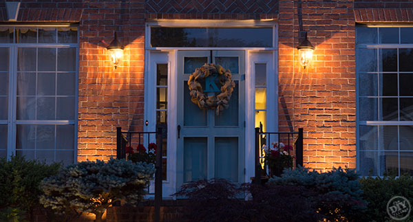 Front Door Curb Appeal Makeover