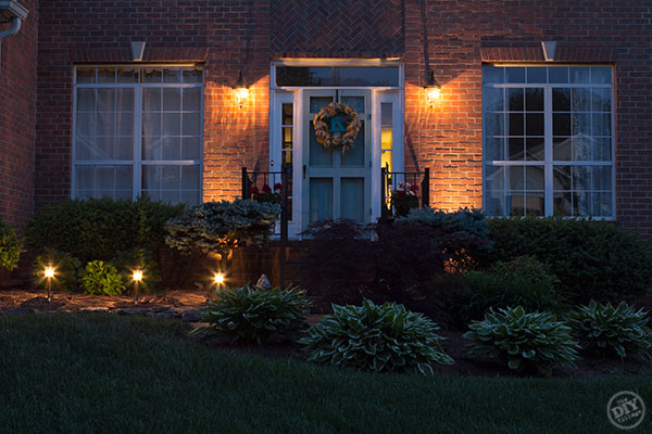 Enhancing Curb Appeal with landscape lighting