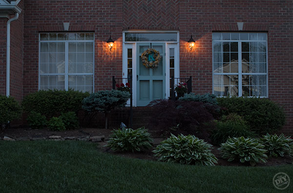 Before Curb Appeal Makeover