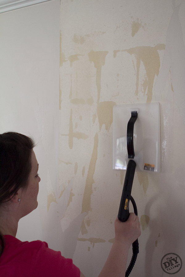 easy wallpaper removal with the homeright steammachine