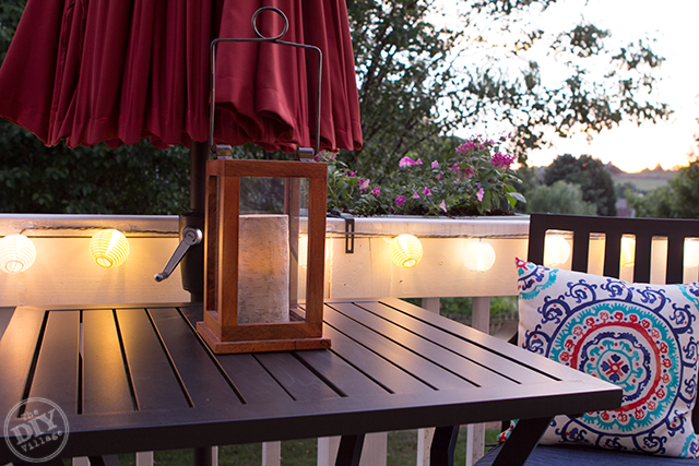 Allen+Roth Outdoor Lantern