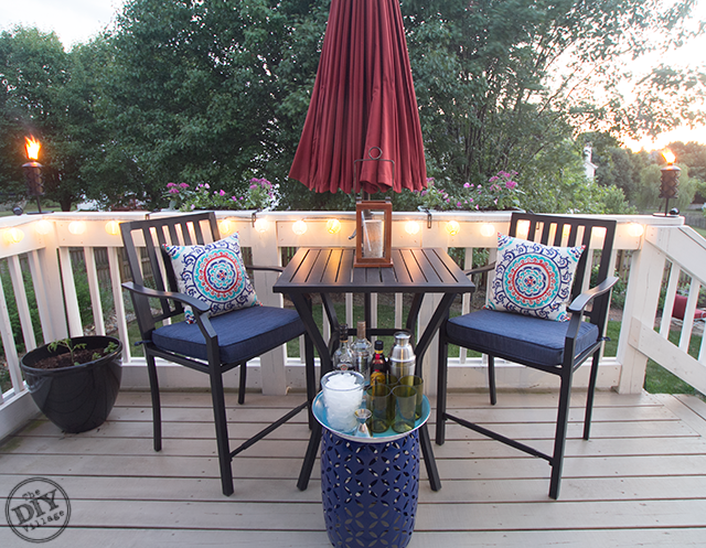 Night Time Friendly Outdoor Space