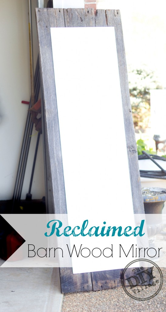 Barn Wood Mirror Rustic Home Decor: Reclaimed Rustic Barnwood Mirror