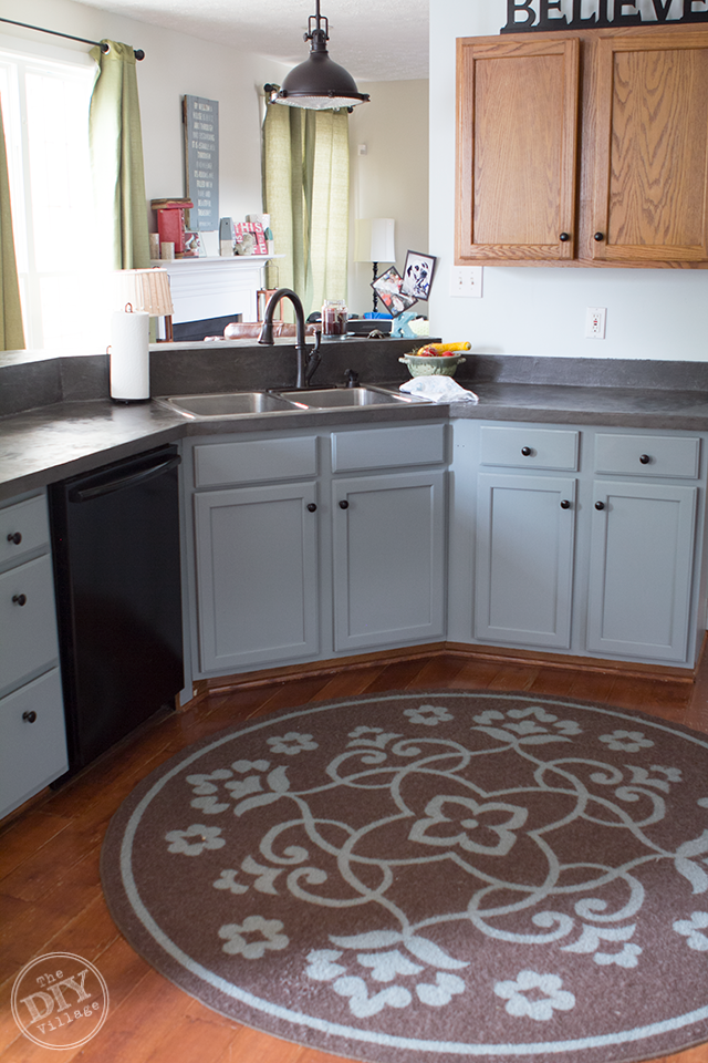 Painted-Lower-Kitchen-Cabinets