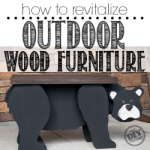Revitalizing your Outdoor Wood Furniture