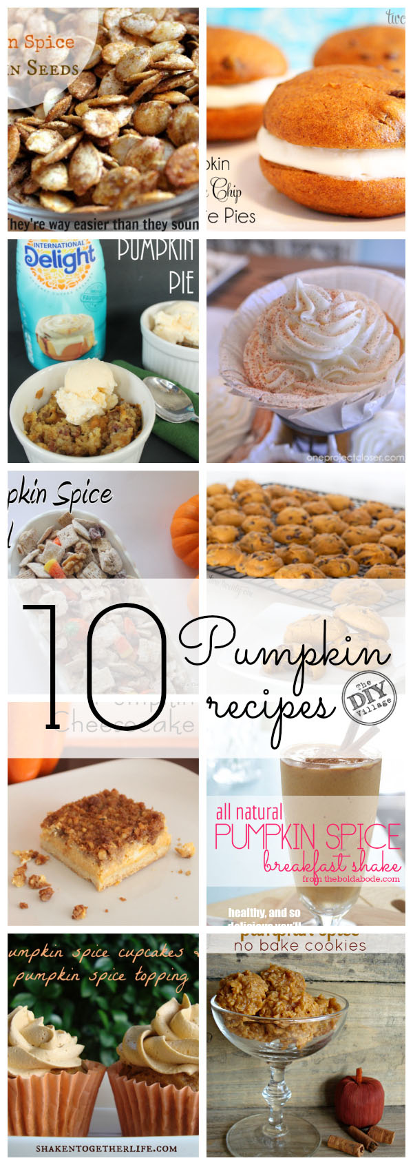 10 pumpkin recipes for fall