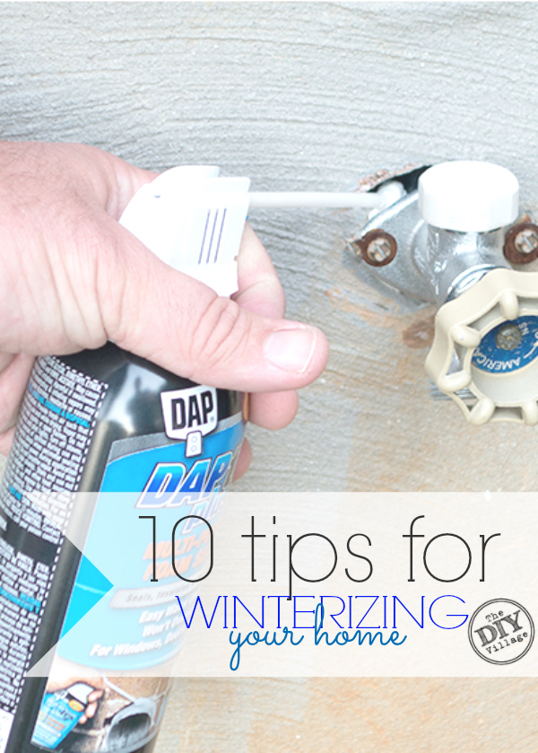 Ten great tips for winterizing your home.  Get your home ready for the winter months before it gets too cold. Adding this to my must do list!