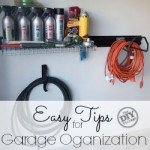 Easy tips for garage organization