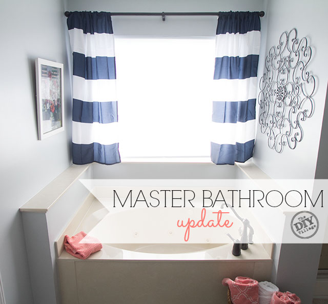 Easy Master Bathroom Update