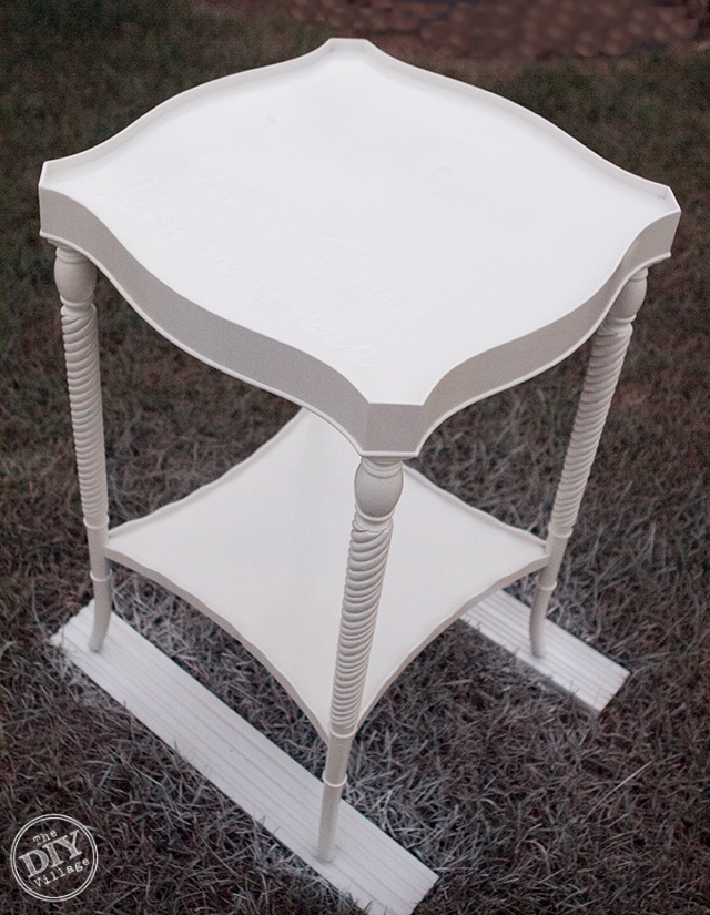 Painted-Side-Table