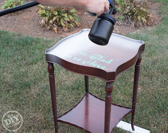 paint sprayer for furnitureThe Easiest Way to Paint Furniture  The DIY Village