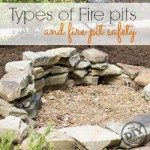 All about fire pits sizes and fuel types, also most importantly Fire Pit Safety. How to use them and keep your family safe!