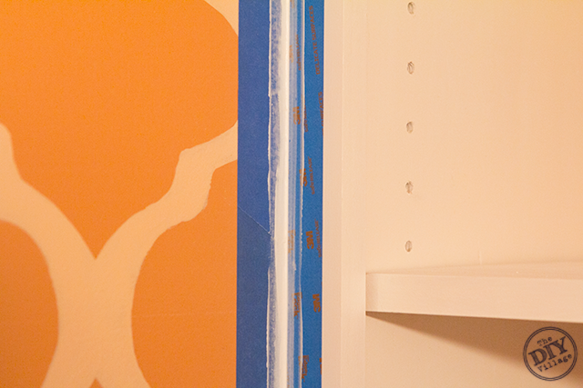 Caulking-Custom-Built-In-Bookcase