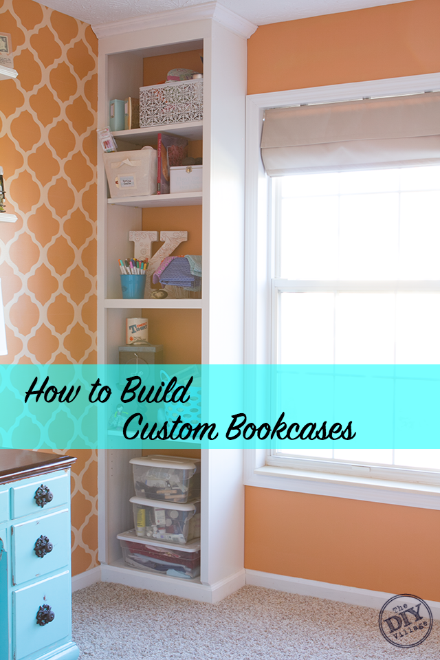 How-To-Build-Custom-Bookcases