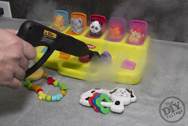 Steam Cleaning Toys