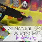 All Natural Alternative for Cleaning Kids Toys