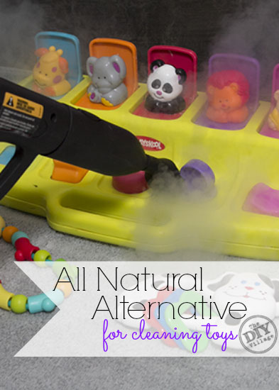 All natural alternative for cleaning kids toys. Great for disinfecting everything little ones like to stick in their mouths. Especially during cold season!