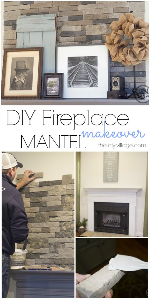 makeover watch ourhouse fireplace youtube diy stone