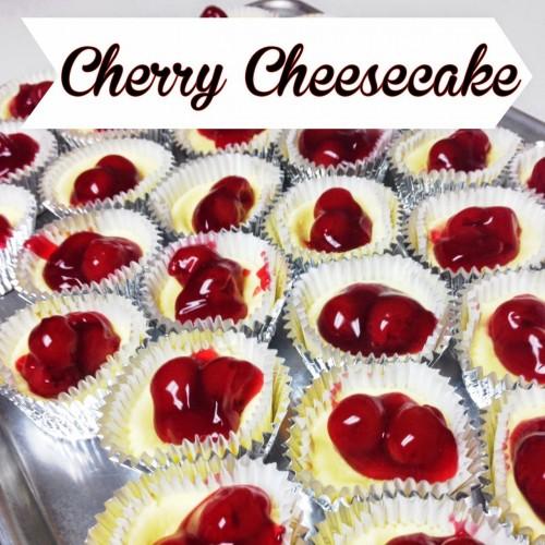 Mini Cherry Cheesecake