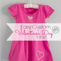 Easy Custom Valentine's Day T-Shirt