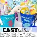 Easy Toddler Easter Basket