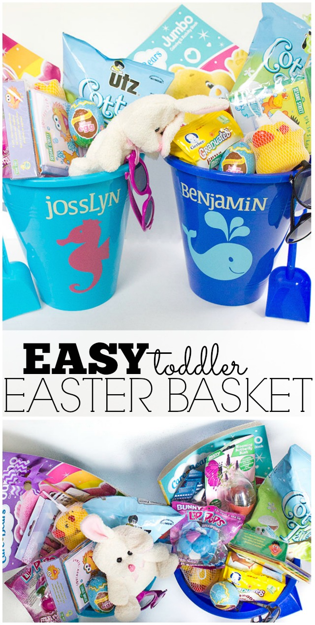Easy Toddler Easter Basket - for under $15