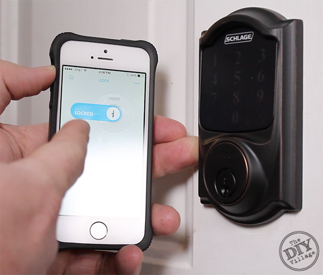 Controlling Schlage Connect from an Iphone
