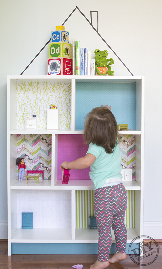 DIY Dollhouse IKEA Billy Hack