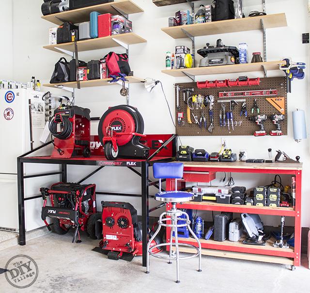 Garage Makeover 2