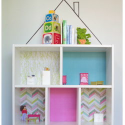 IKEA Billy bookcase dollhouse sq