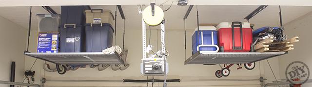 Kobalt Overhead Storage Racks