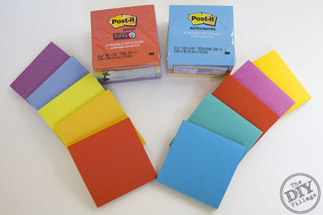 Post-it Brand World of Colors