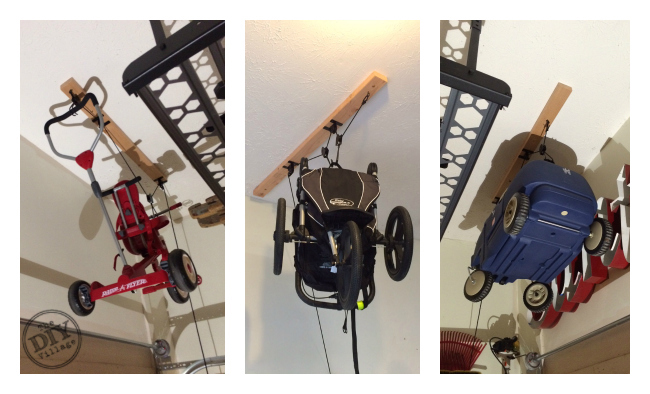 Pulley System Storage