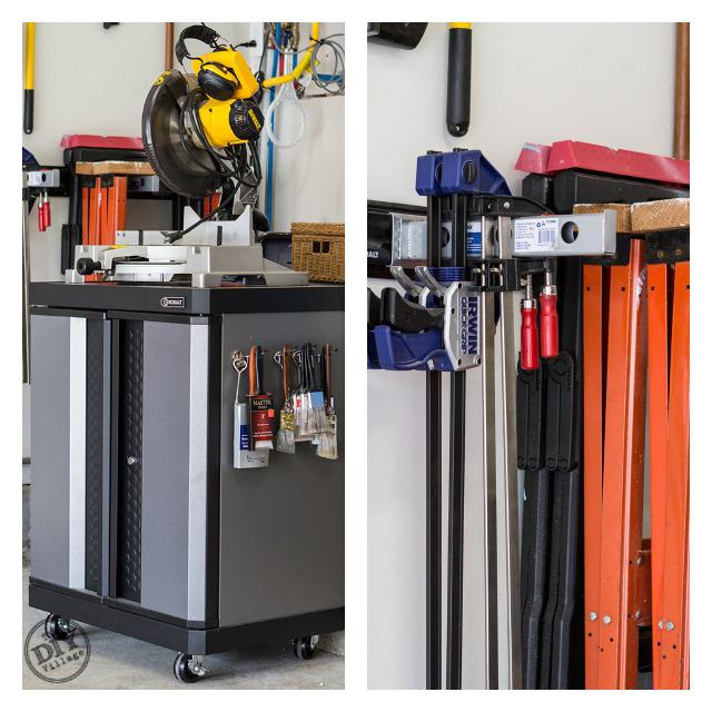 Flexible Garage Wall Storage: Organized Garage Makeover