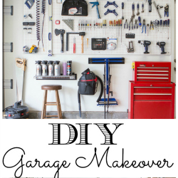 Organized garage makeover the diy village solutioingenieria Image collections