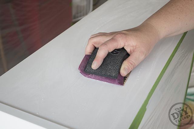 sanding laminate