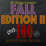 Over 100 creative recipes, crafts, and decor ideas for fall!