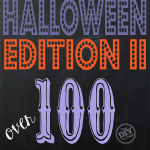 All Things Creative Halloween Edition II over 100 creative ideas for halloween including crafts, recipes, and tons of inspiration!