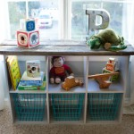 Rustic Storage Cube Makeover