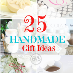 25 Handmade gift ideas for the holidays