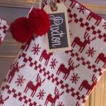 Rustic Nordic Christmas Mantel