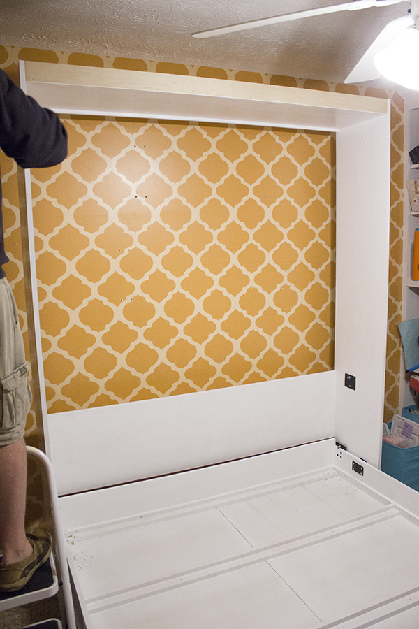diy murphy bed installation c